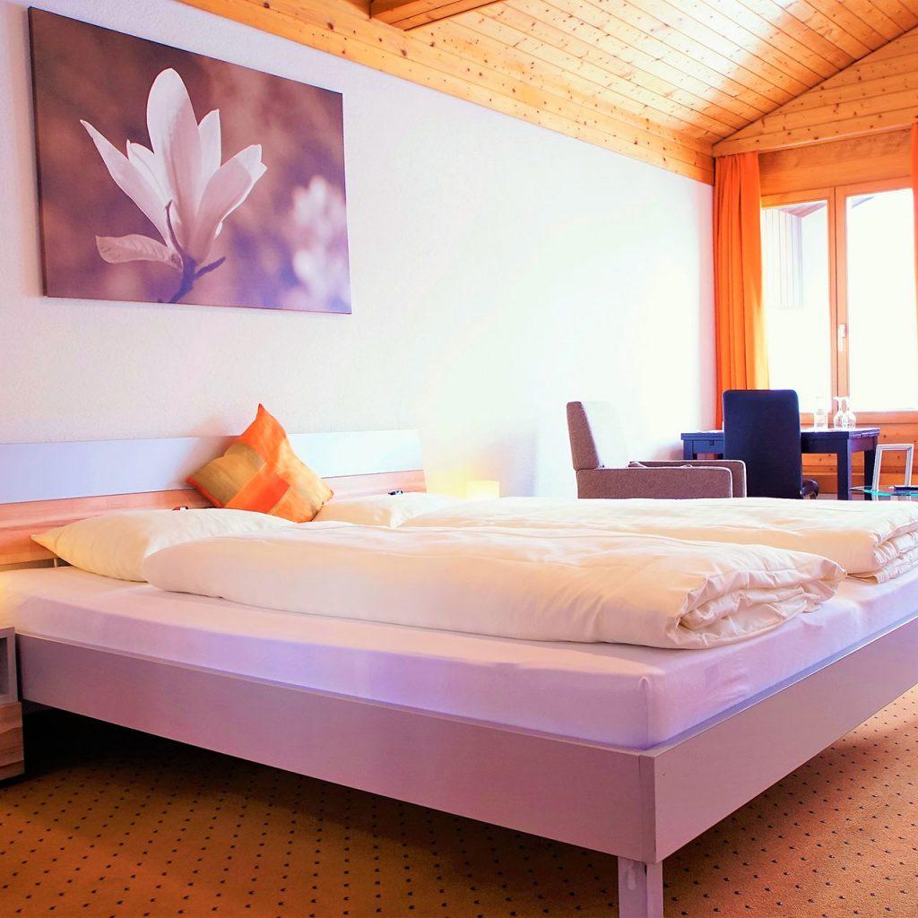 Doppel-Zimmer mit Zusatz-Betten